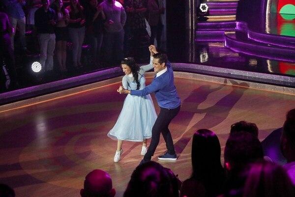 Coco Vargas fue una de las participantes que mejoró mucho sus calificaciones para esta cuarta gala de 'Dancing'. Foto Lilliam Arce