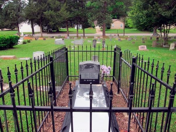 La tumba de James Byrd Jr.
