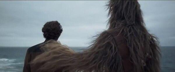 Captura de pantalla de 'Solo: A Star Wars Story'.