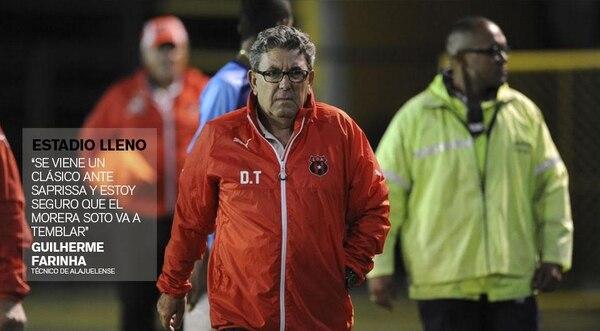Guilherme Farinha, técnico de Alajuelense.