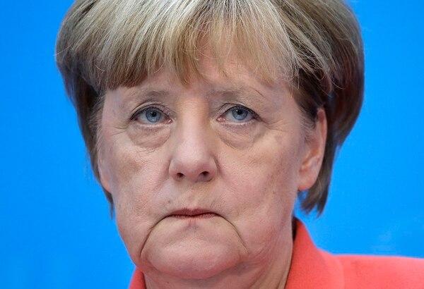 La canciller Ángela Merkel se refirió el lunes a los resultados de su partido en los comicios legislativos de Berlín. Lo hizo durante una conferencia de prensa.