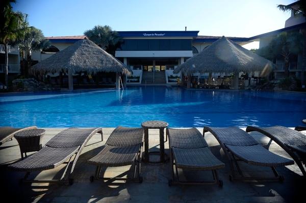 El hotel Margaritaville Beach Resort, sede de la maratón de Flamingo, cuenta con 120 habitaciones y capacidad para hospedar a 380 personas. Fotografía: Diana Méndez