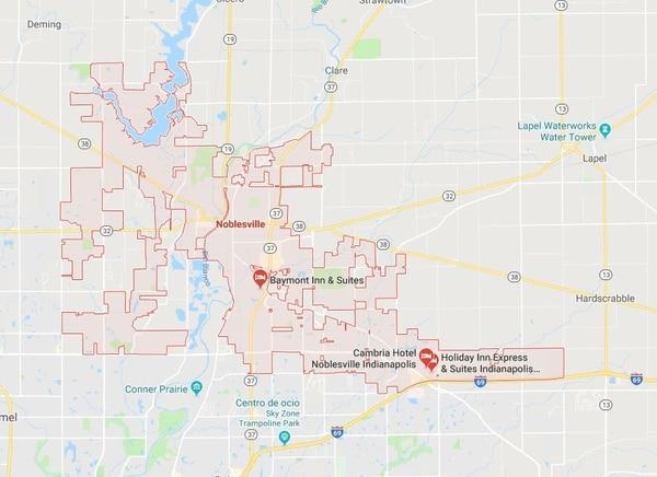 El tiroteo ocurrió en Noblesville, Indiana.