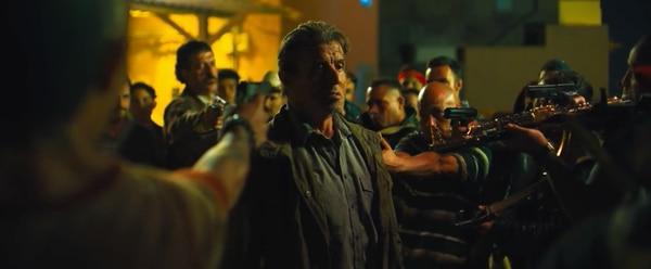 Ni todas las escenas de acción del mundo salvaron a la última de Rambo. Foto: Archivo GN