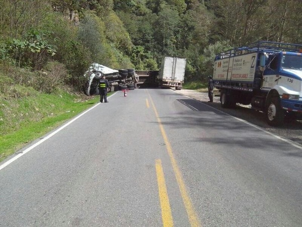 Accidente se dio a las 8 a. m.