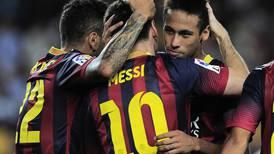 Neymar festeja la llegada de Messi: 'De nuevo juntos'
