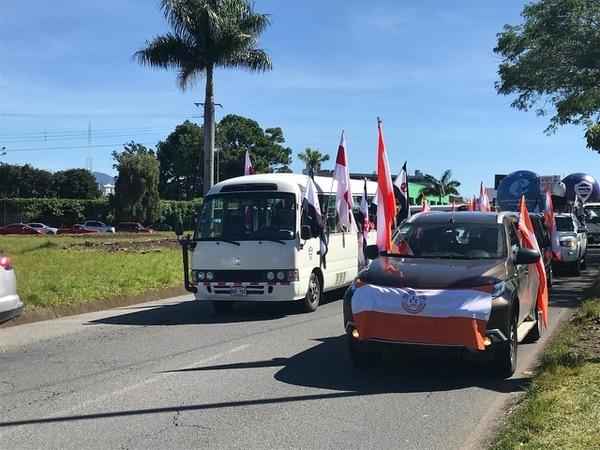Sindicatos preparan caravanas en todo el país y universitarios marcharán hacia Presidencia. Foto: Alonso Tenorio.