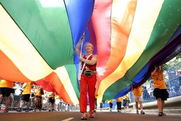 La unión estable de parejas homosexuales fue reconocida hace dos años.