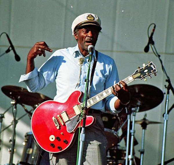 Chuck Berry, leyenda del rock 'n' roll, falleció a los 90 años