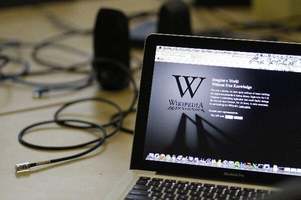 En enero, varias compañías de Internet en EE. UU. inhabilitaron sus páginas como protesta ante una ley que amenazaba censurar contenidos. | AP.