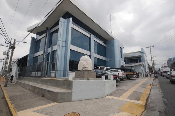 Fachada de la Empresa de Servicios Públicos de Heredia (ESPH) en el centro de esa prinvicia. Fotografía: John Durán.
