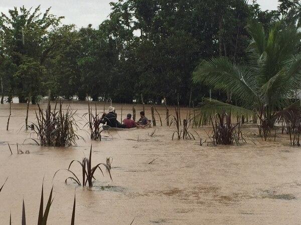 Lluvias sacan de sus viviendas a 280 personas en Sarapiquí