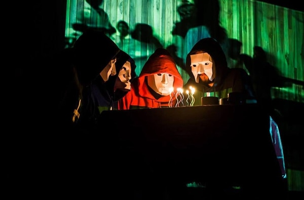 En vivo. Los Piratas del Cosmos participan en el proyecto. Cortesía de Alonso Cruz y Piratas del Cosmos para La Nación.