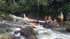 Avioneta que se estrelló había despegado bajo condiciones ideales