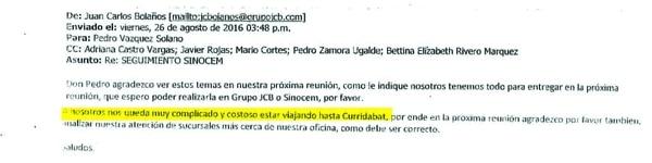 Documentos reflejan críticas de funcionarios públicos ante el trato que les dio Juan Carlos Bolaños.