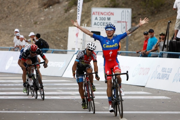 El costarricense Román Villalobos consiguió este lunes una de sus mejores victorias. Foto: Luis Barbosa