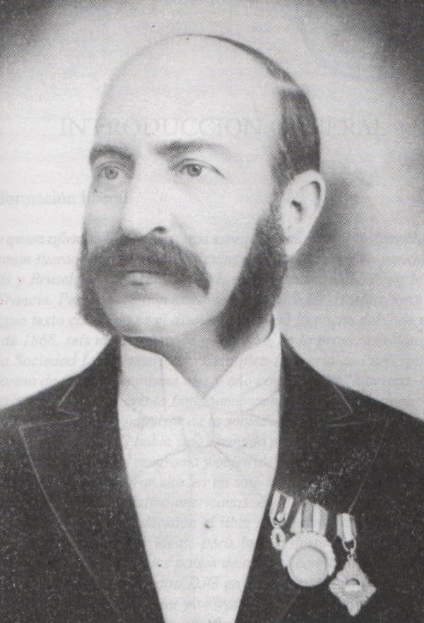 Un retrato de David j. Guzmán, que publicó el libro 'David J. Guzmán. Obras escogidas' (2000).