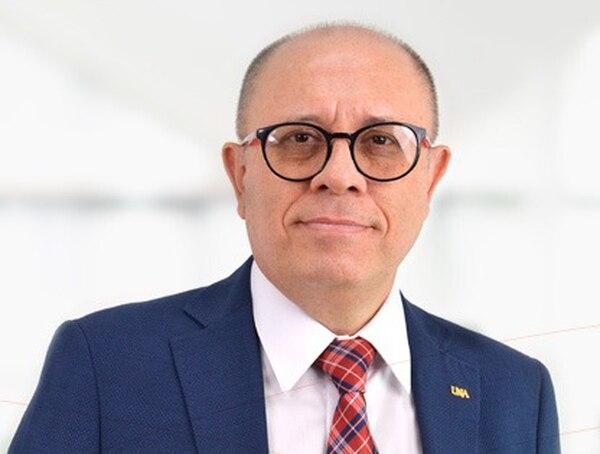 Francisco González, nuevo rector de la UNA. Foto cortesía