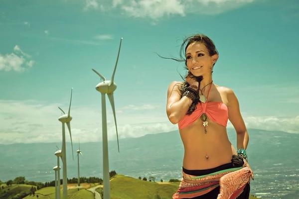 Ana Cecilia Marín participó en la pasada edición de Miss Costa Rica.   CANAL 7/ KURT AUMAIR.