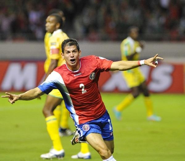 El 16 de octubre del 2012, Cristian Gamboa anotó para la Selección Nacional contra Guyana. / Archivo