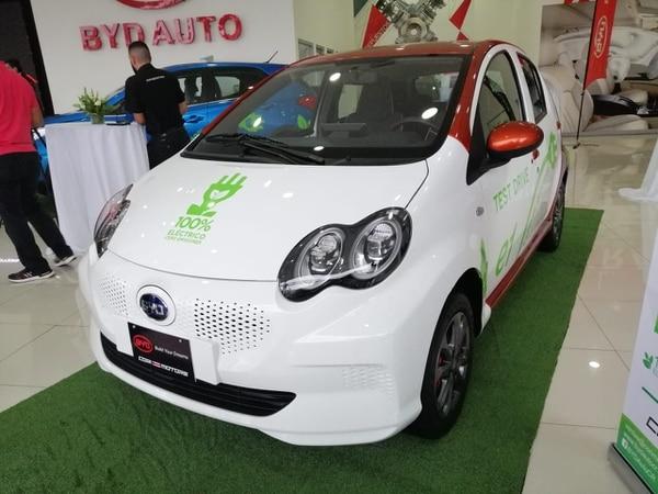 Este es el modelo E1, que cuesta $25.900. Foto Cortesía de BYD