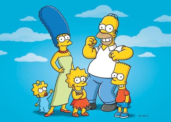 El primer capítulo de Los Simpsons fue emitido en 1989. Es emitida por la cadena de televisión Fox. | ARCHIVO/AP
