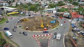 Nuevo viaducto en rotonda de la Bandera estaría listo en un año
