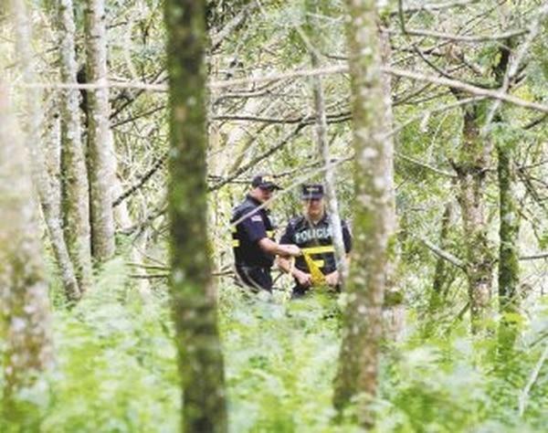 El cuerpo fue hallado por la Policía hacia la 1 p. m. | REBECA ARIAS.