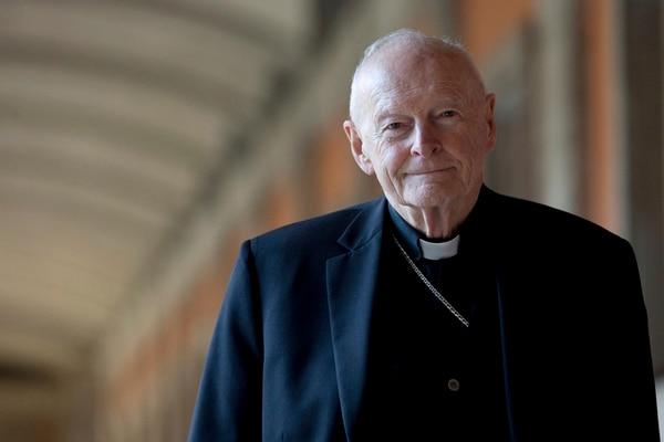 El cardenal Theodore McCarrick durante una visita a Roma, en febrero del 2013.