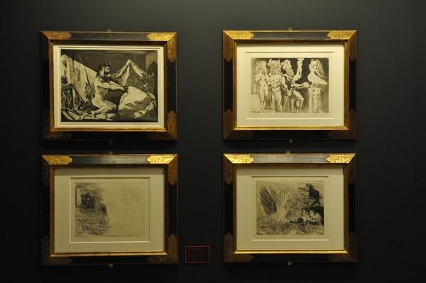 Las obras de 'Picasso. Suite Vollard' se podrán ver en los Museos del Banco Central Costa Rica. Foto: Marvin Caravaca.