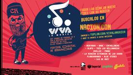 Viva la Música: el festival virtual de pop y rock que Nacion.com le lleva a su casa