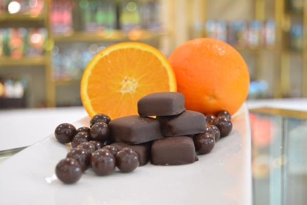 Línea de chocolate gourmet de Britt.