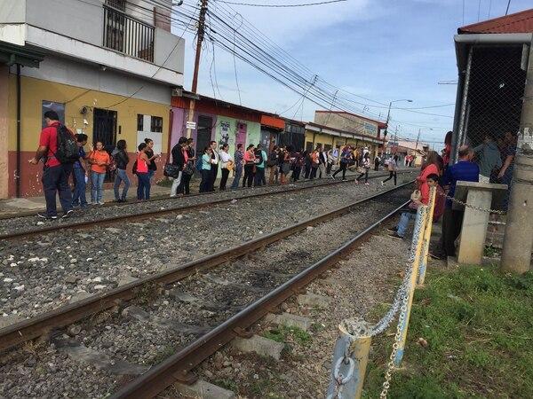 La estación del tren en Heredia deberá ser remodelada en los próximos seis meses.