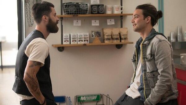En 'Here And Now' Ramón tiene un romance con un chico llamado Henry. Foto: HBO