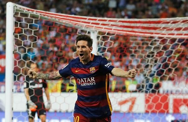 Lionel Messi entró al minuto 60 y al 77' anotó.