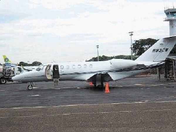 La nave del polémico viaje es un Cessna matrícula de EE. UU.. | ARCHIVO