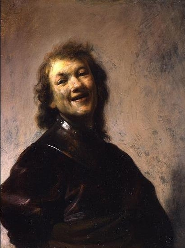 Rembrandt Laughing | AFP