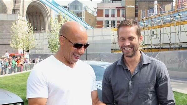 La primera vez que Vin Diesel y Paul Walker actuaron juntos fue en Rápido y furioso , filme estrenado en 2001. Twitter/LN