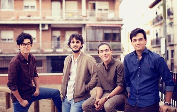 La banda colombiana Morat, integrada por Simón Vargas, Juan Pablo Isaza, Martín Vargas y Juan Pablo Villamil tocarán en el Parque Viva en noviembre. Foto: Archivo.