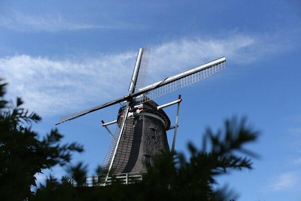Molino en la ciudad de Nijmegen, fronteriza con Alemania.