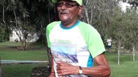 Jardinero de 85 años será el atleta tico de más edad en Mundial Máster de Atletismo virtual