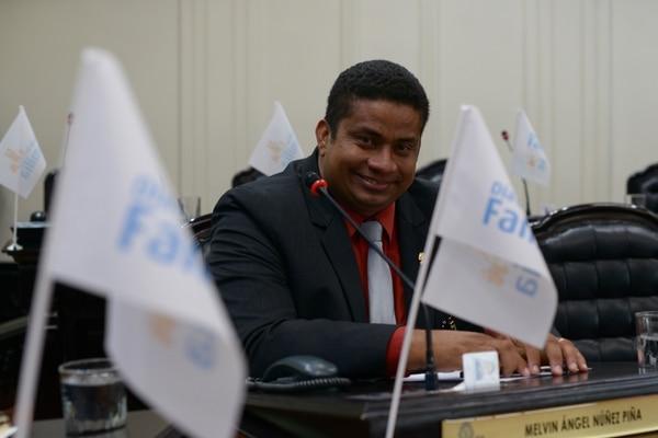 Melvin Núñez, diputado del PRN. Fotografía: Jose Díaz/Agencia Ojo por Ojo