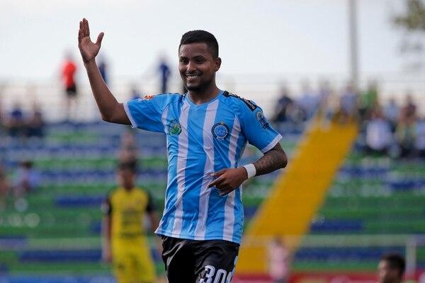 Frank Zamora suma más de la mitad de los goles de la Universidad de Costa Rica en el presente Torneo de Apertura 2018. Sin embargo, de los 12 partidos jugados, solo en cinco fue estelar. Fotografía: Mayela López