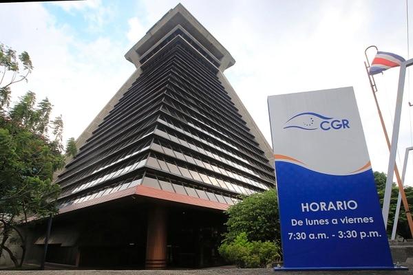 22/062018 Sabana Sur. Fachada del edificio de la Contraloría General de la República. Foto: Rafael Pacheco