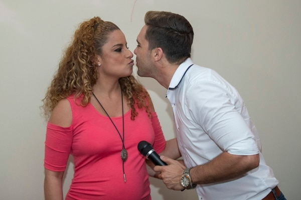 Ítalo Marenco y Cindy Villalta están a días de darle la bienvenida a su primogénita Irene. Fotografía: José Cordero.