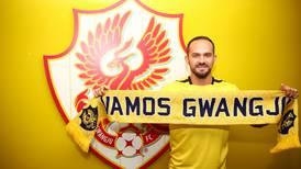El Gwangju, nuevo club de Marco Ureña, le destaca su velocidad, habilidad y visión de juego