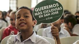 Escolares piden más ciclovías en la capital