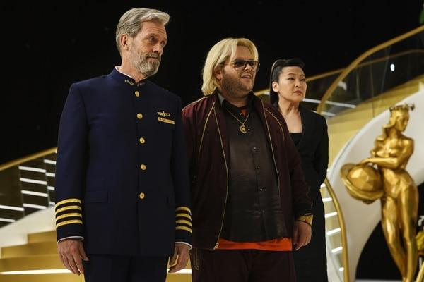 Hugh Laurie interpreta a Ryan Clark, líder de la tripulación, mientras que Josh Gad es el multimillonario y excéntrico Herman Judd. Fotografía: HBO para La Nación