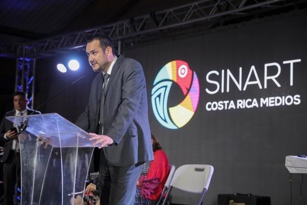 Mario Alfaro, director del Sinart, habló de la nueva imagen del canal.