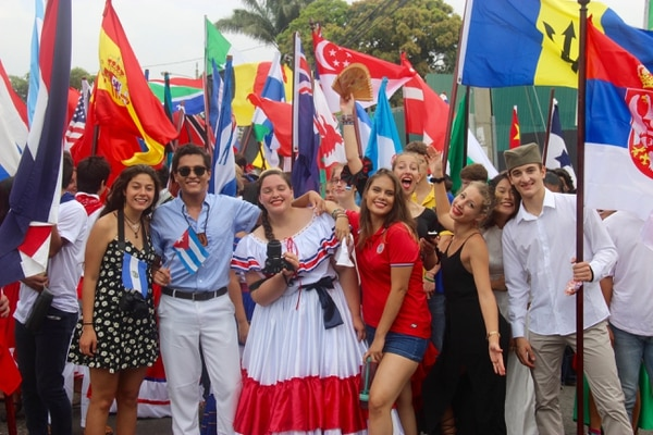 La fiesta del UWC Festival se vive en grande.